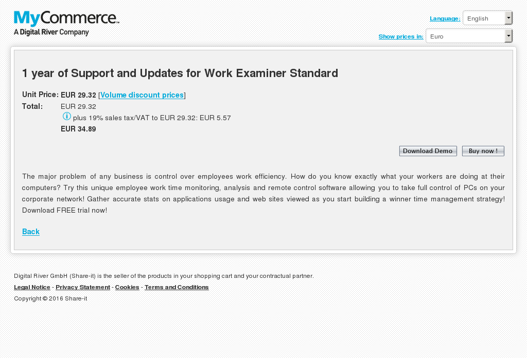 Year Support Updates Work Examiner Standard Download