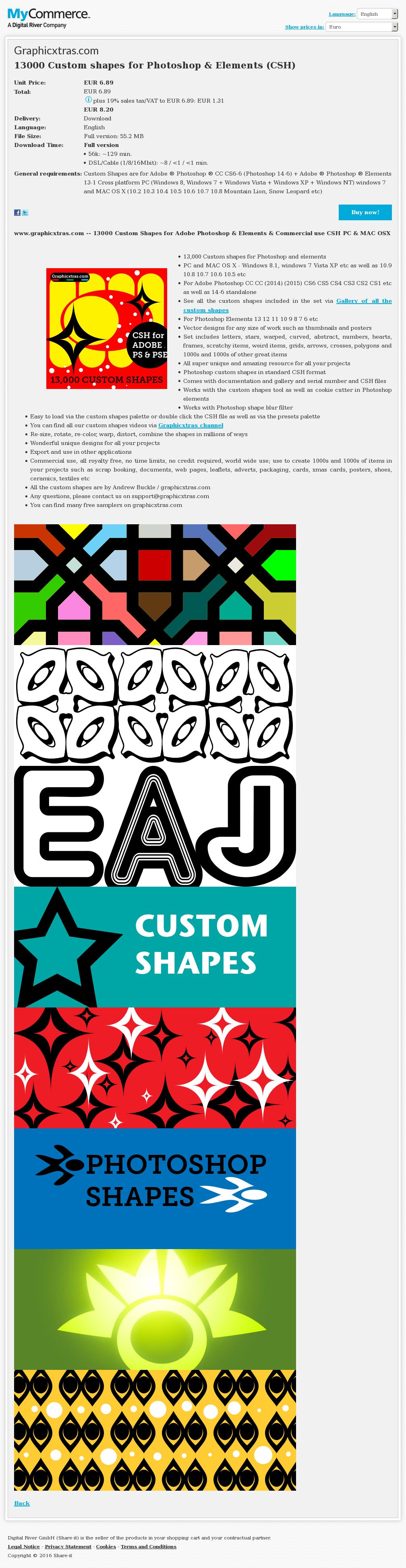 Custom Shapes Photoshop Elements Csh Alternative