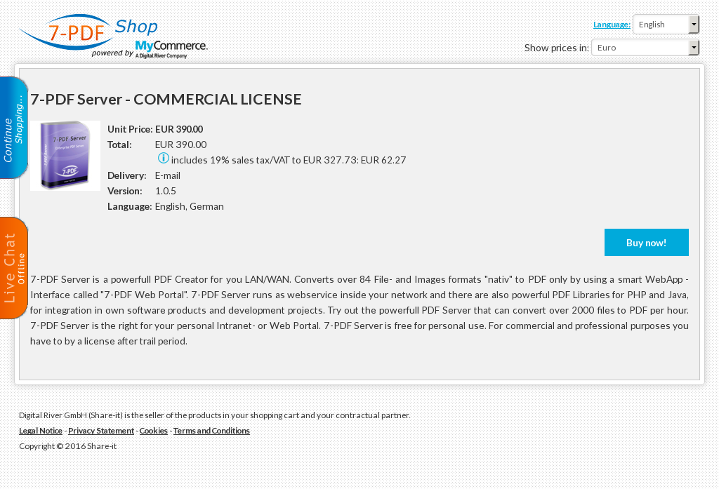 Pdf Server Commercial License Features