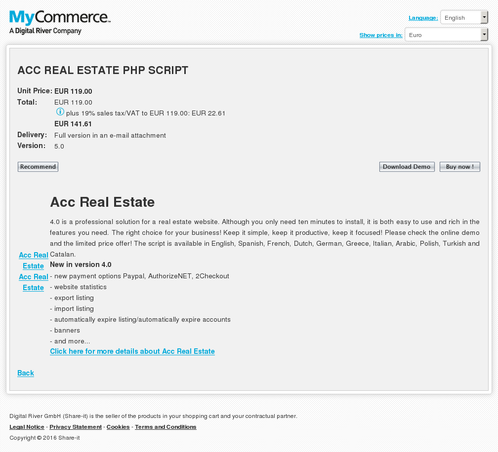 Acc Real Estate Php Script Review