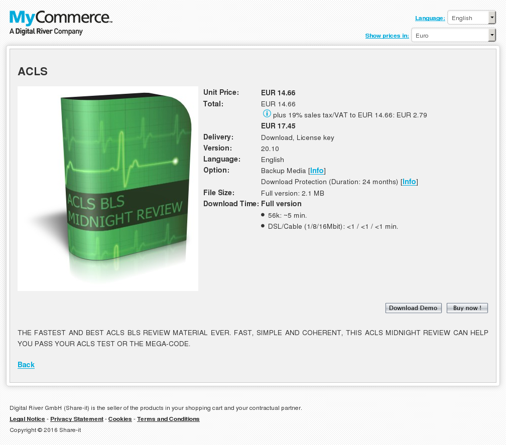 Acls Download