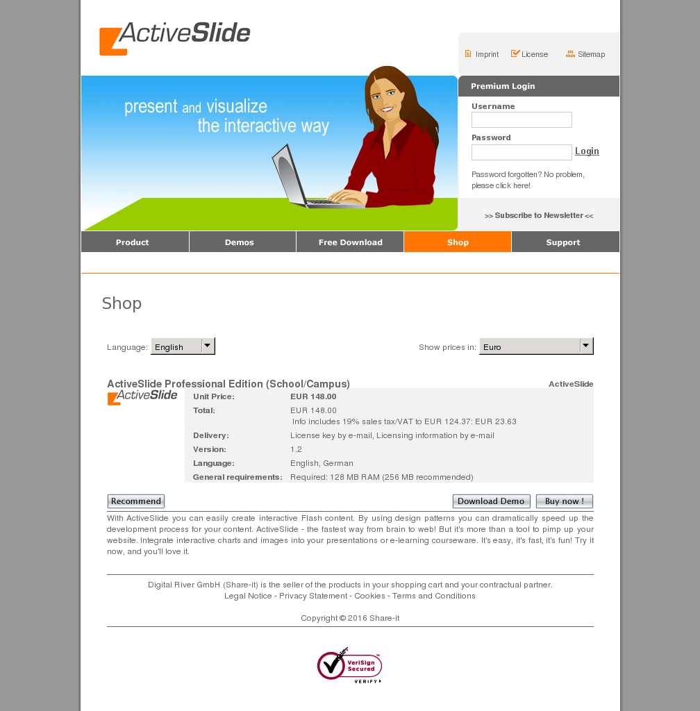 Activeslide Professional Edition School Campus Howto
