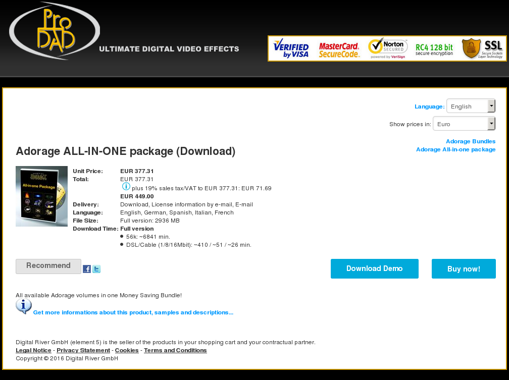 Adorage All One Package Download Alternative