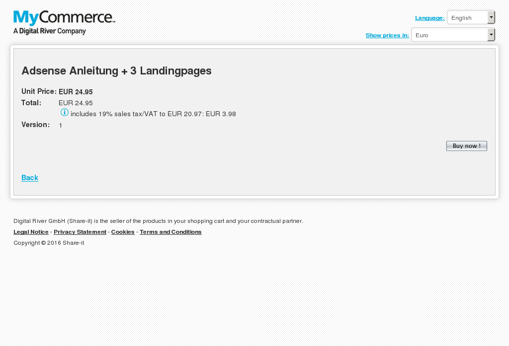 Adsense Anleitung Landingpages Howto