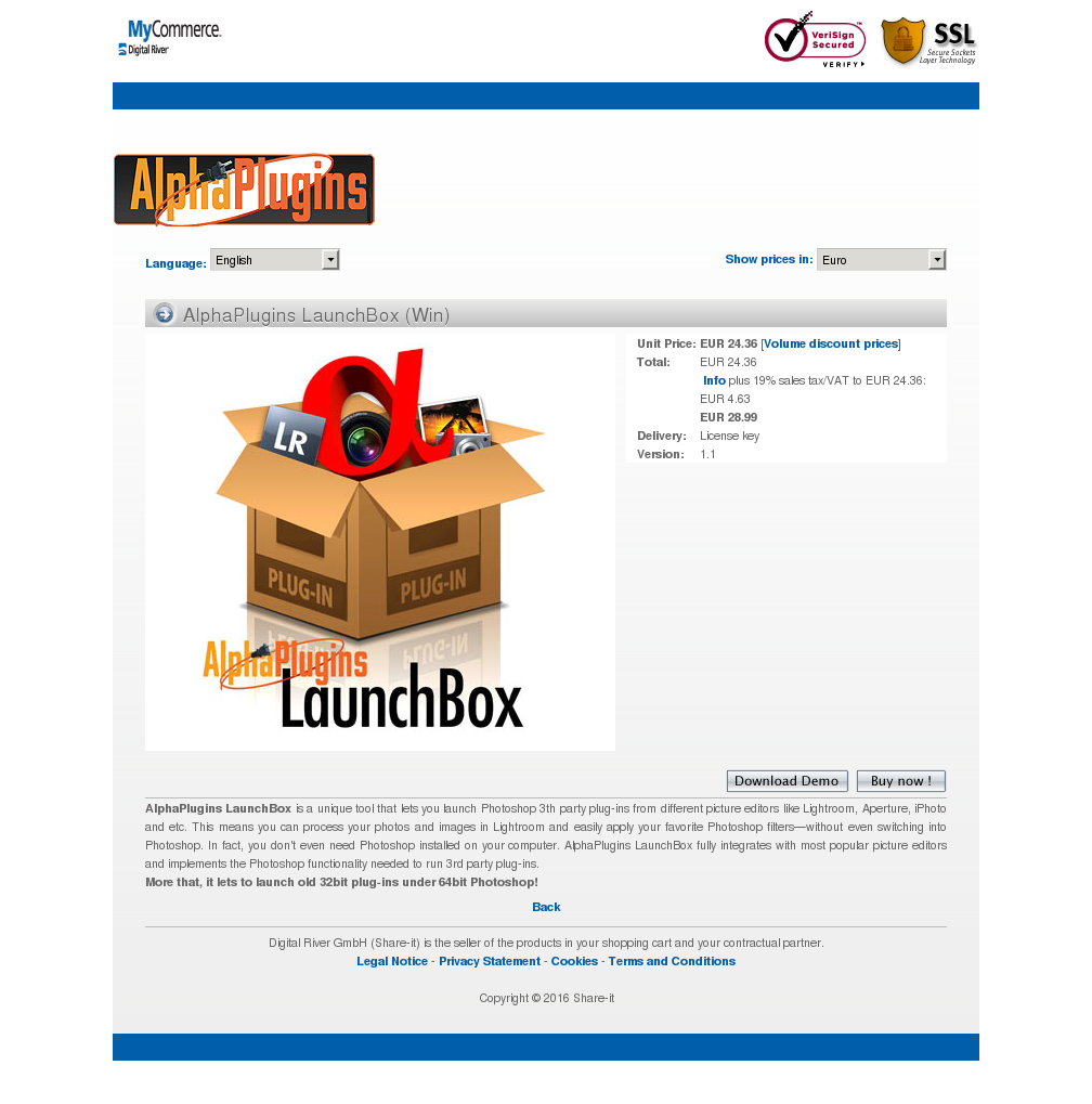 Alphaplugins Launchbox Win Free