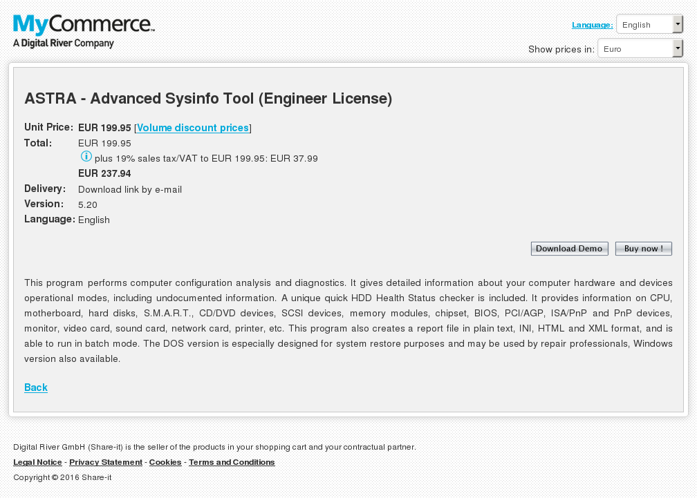 Astra Advanced Sysinfo Tool Engineer License Download