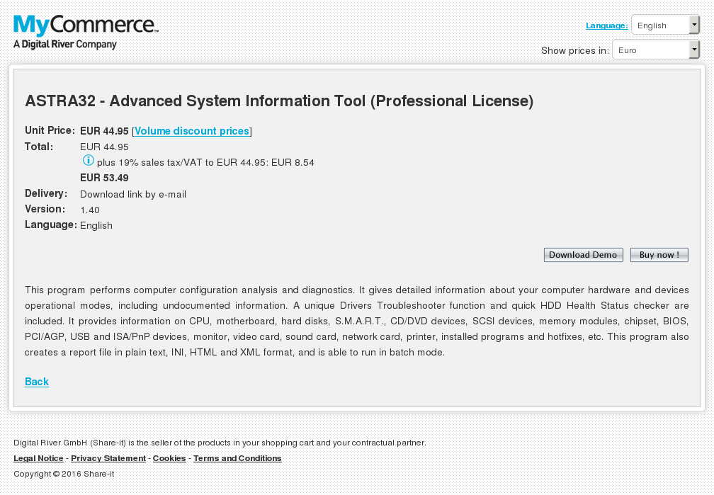 Astra Advanced System Information Tool Professional License Review