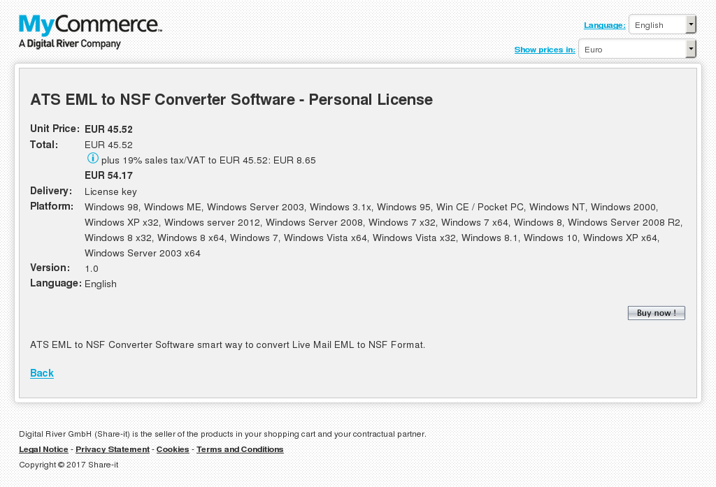 Ats Eml Nsf Converter Software Personal License Howto