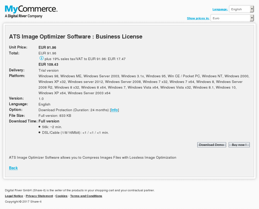 Ats Image Optimizer Software Business License Free