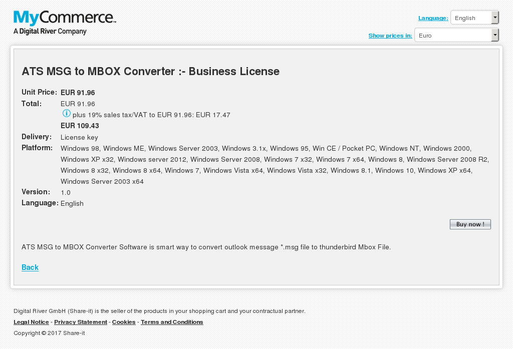 Ats Msg Mbox Converter Business License Review