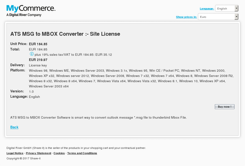 Ats Msg Mbox Converter Site License Free