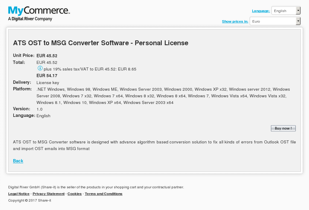Ats Ost Msg Converter Software Personal License Review