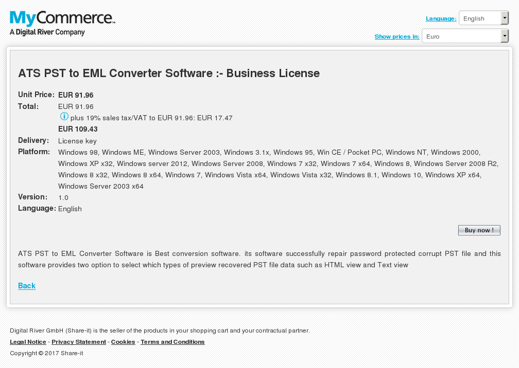 Ats Pst Eml Converter Software Business License Review