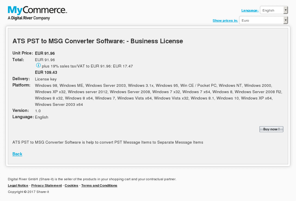 Ats Pst Msg Converter Software Business License Howto