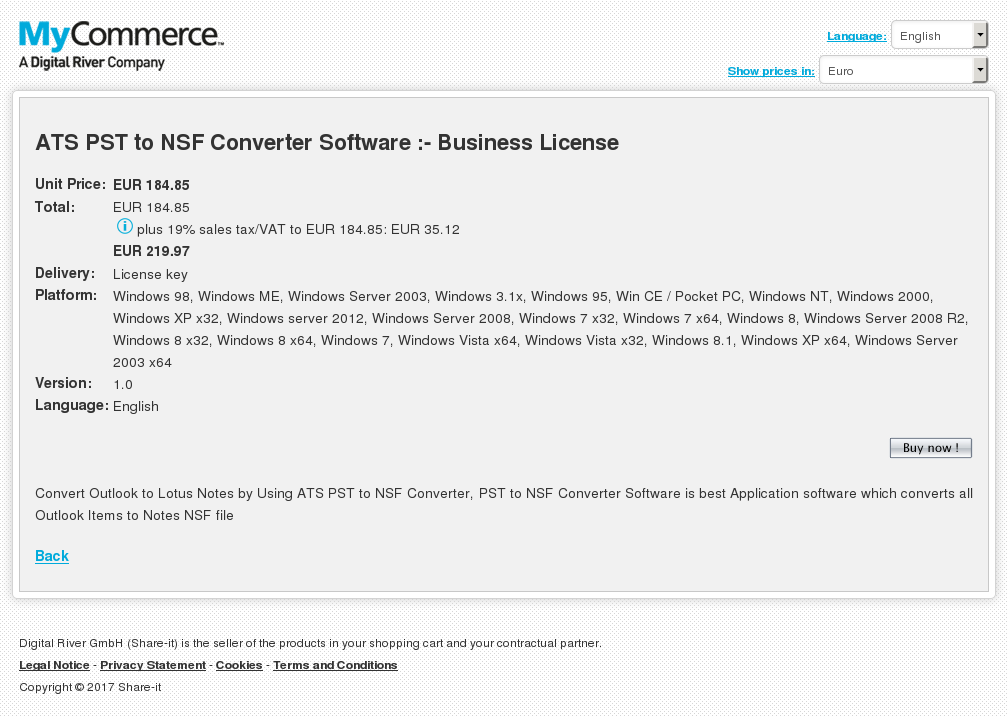 Ats Pst Nsf Converter Software Business License Howto