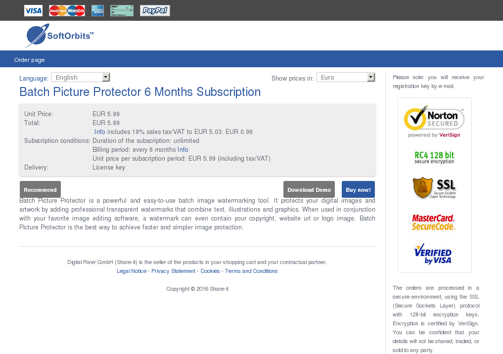 Batch Picture Protector Months Subscription Free