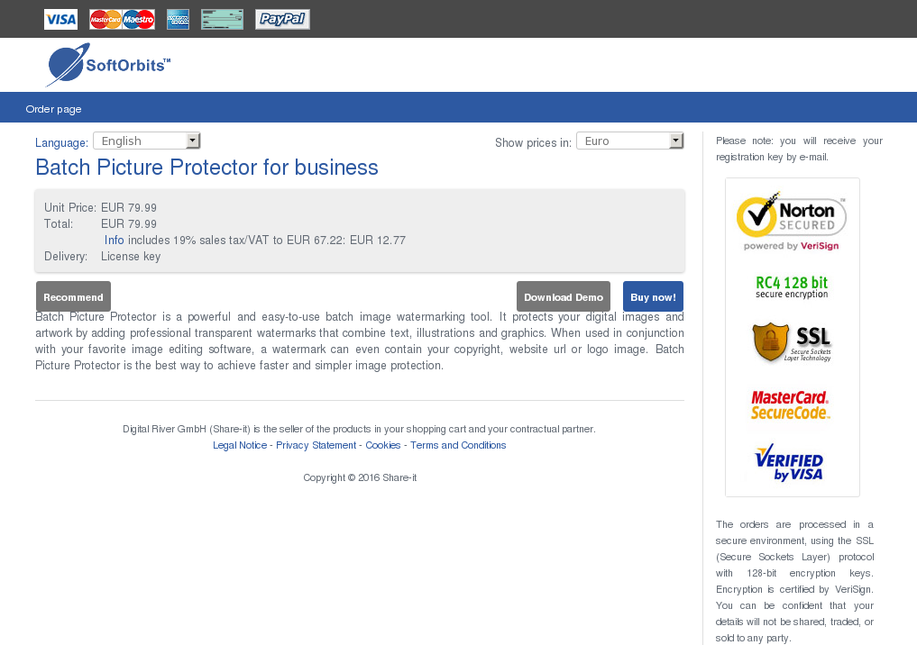 Batch Picture Protector Business Free