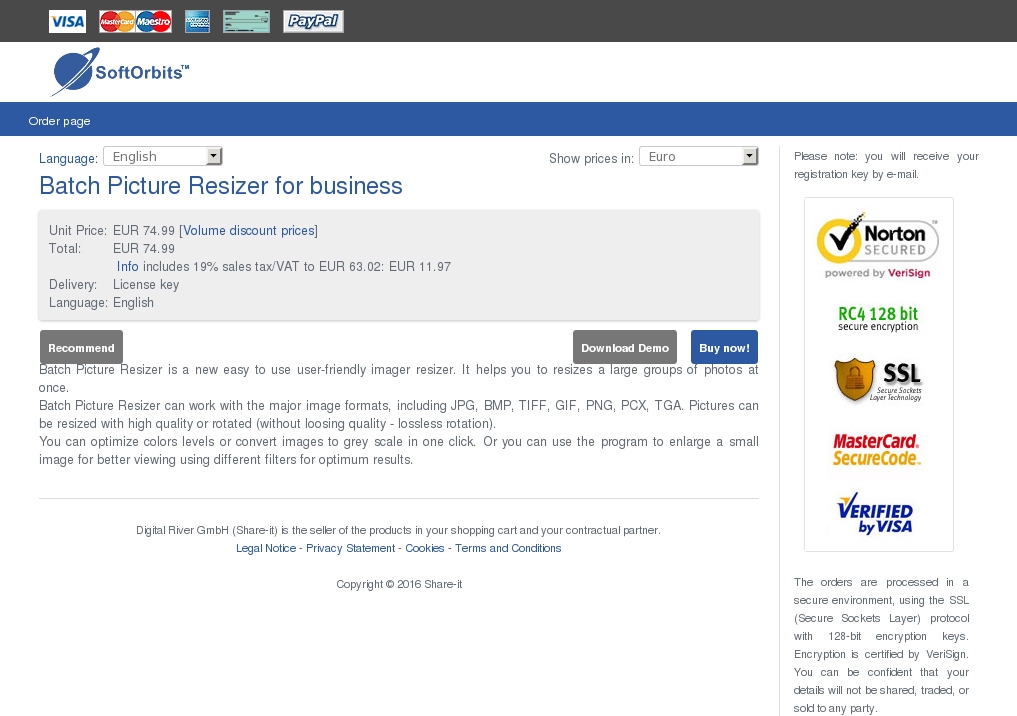 Batch Picture Resizer Business Download