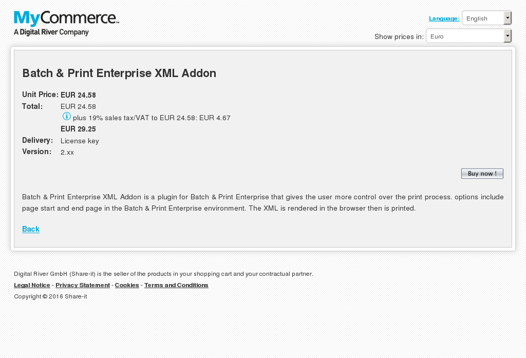 Batch Print Enterprise Xml Addon Alternative