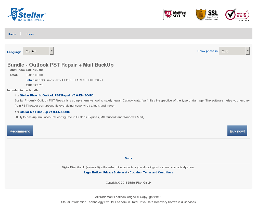 Bundle Outlook Pst Repair Mail Backup Howto