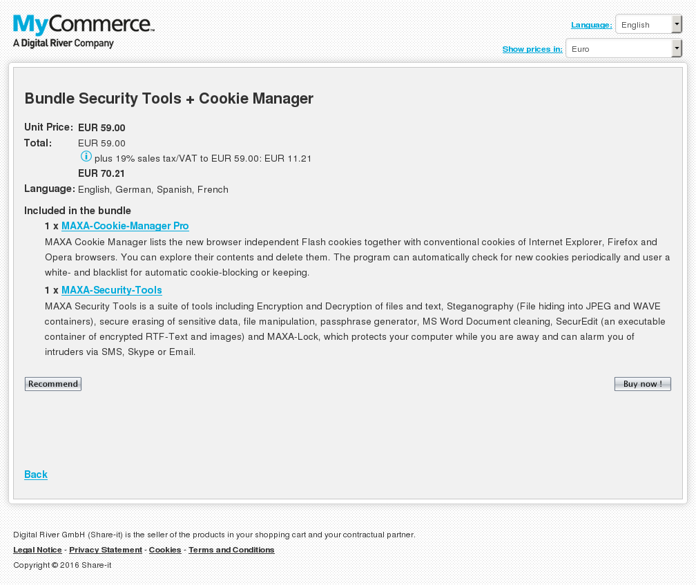 Bundle Security Tools Cookie Manager Download