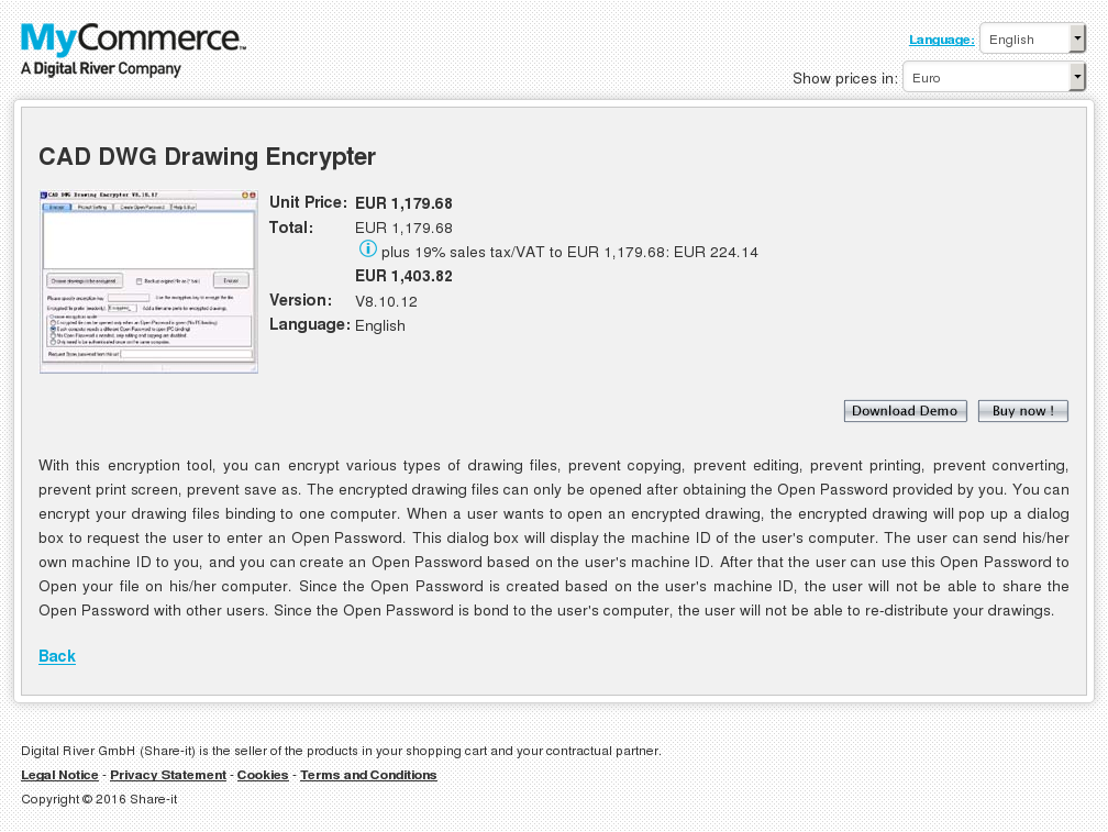 Cad Dwg Drawing Encrypter Download