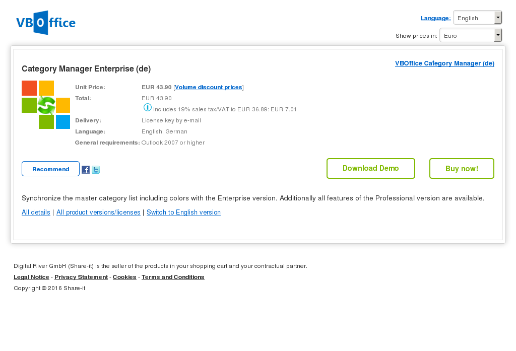 Category Manager Enterprise Howto