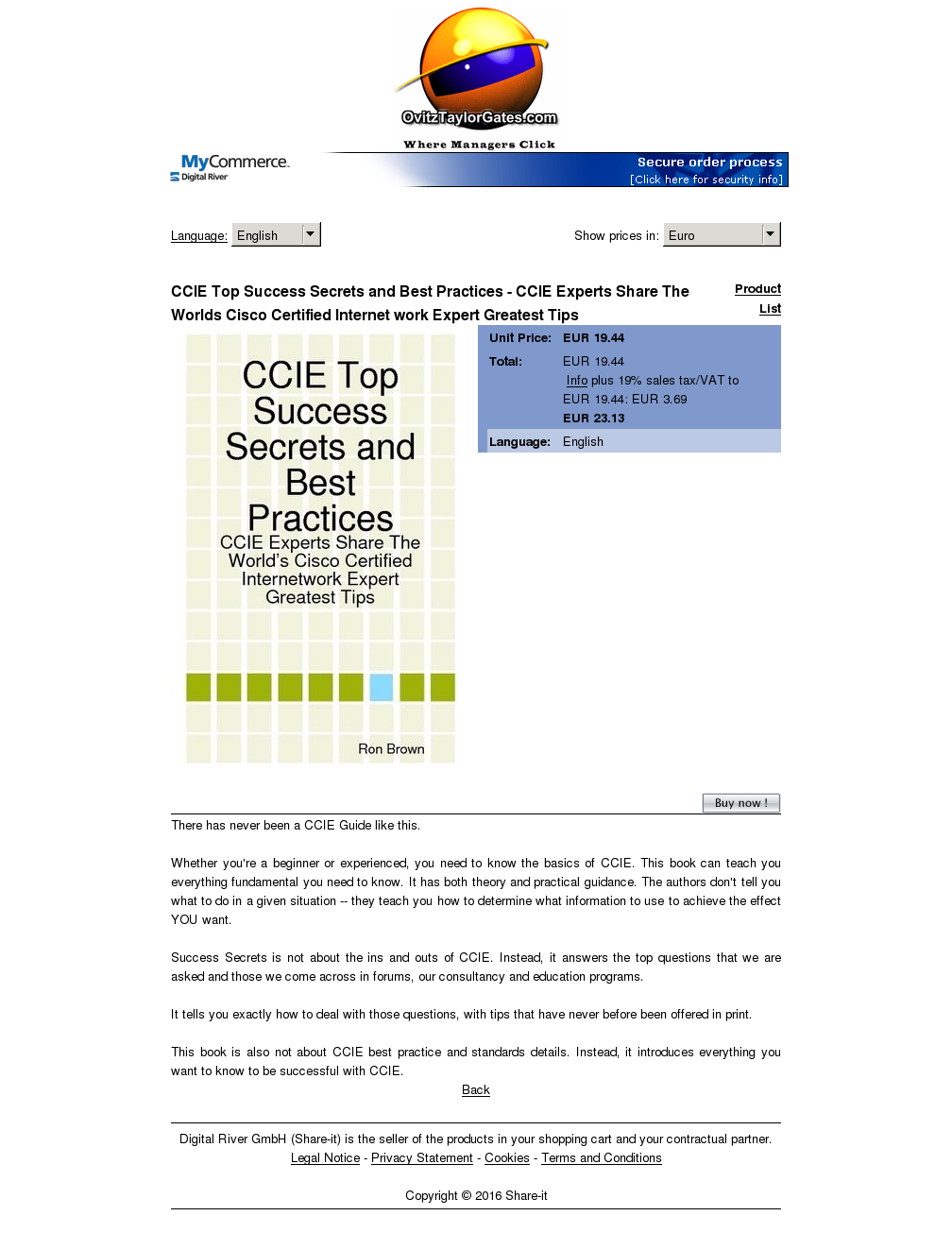Ccie Top Success Secrets Best Practices Experts Share Worlds Cisco Certified Internet Work Expert Greatest Tips Alternative