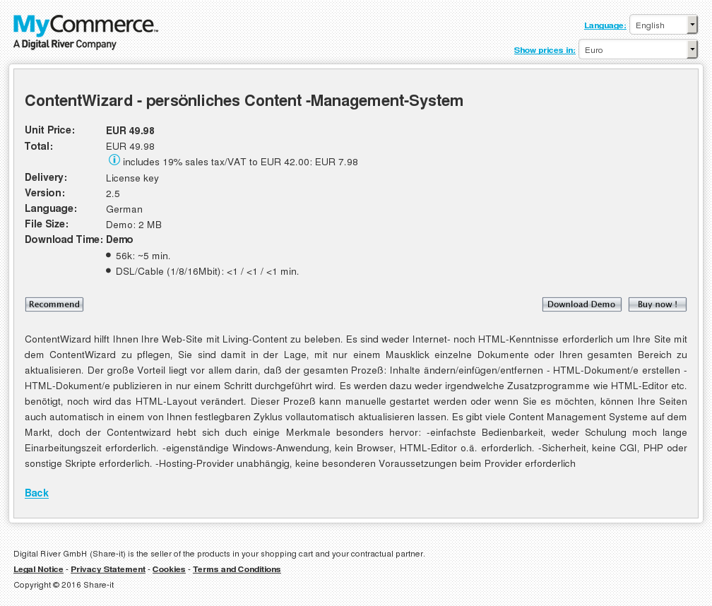 Contentwizard Pers Nliches Content Management System Download