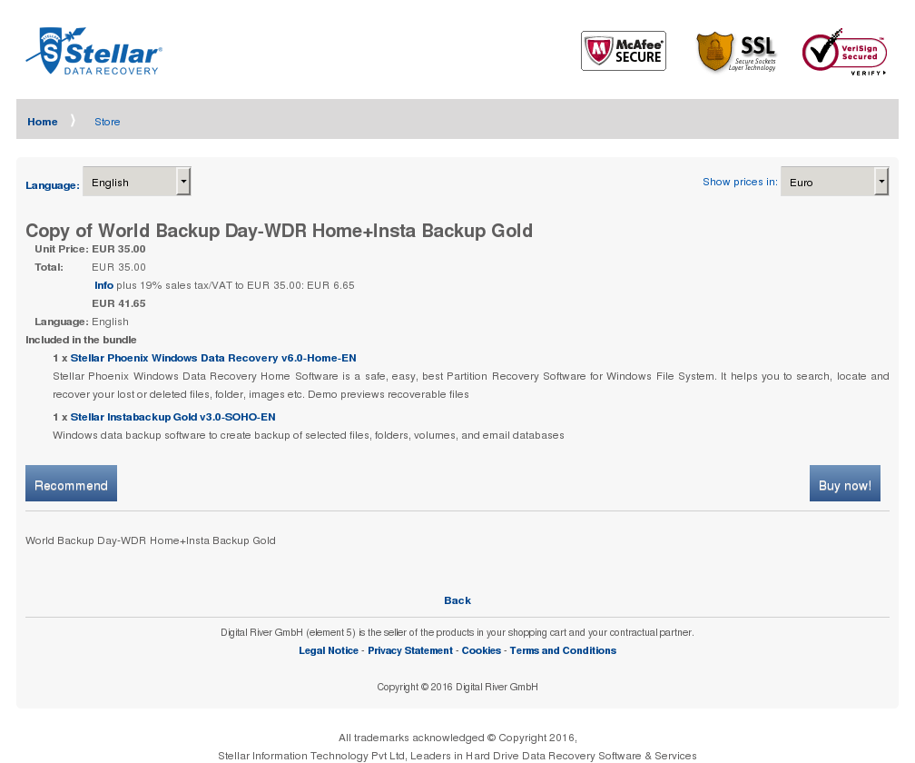 Copy World Backup Day Wdr Home Insta Gold Alternative