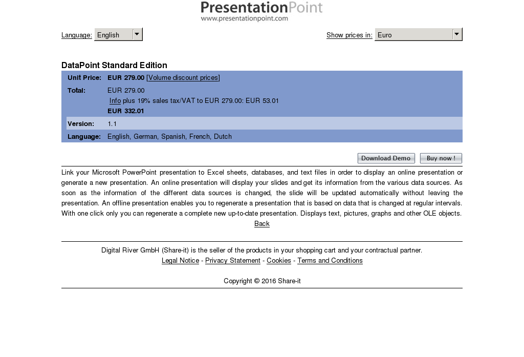 Datapoint Standard Edition Review
