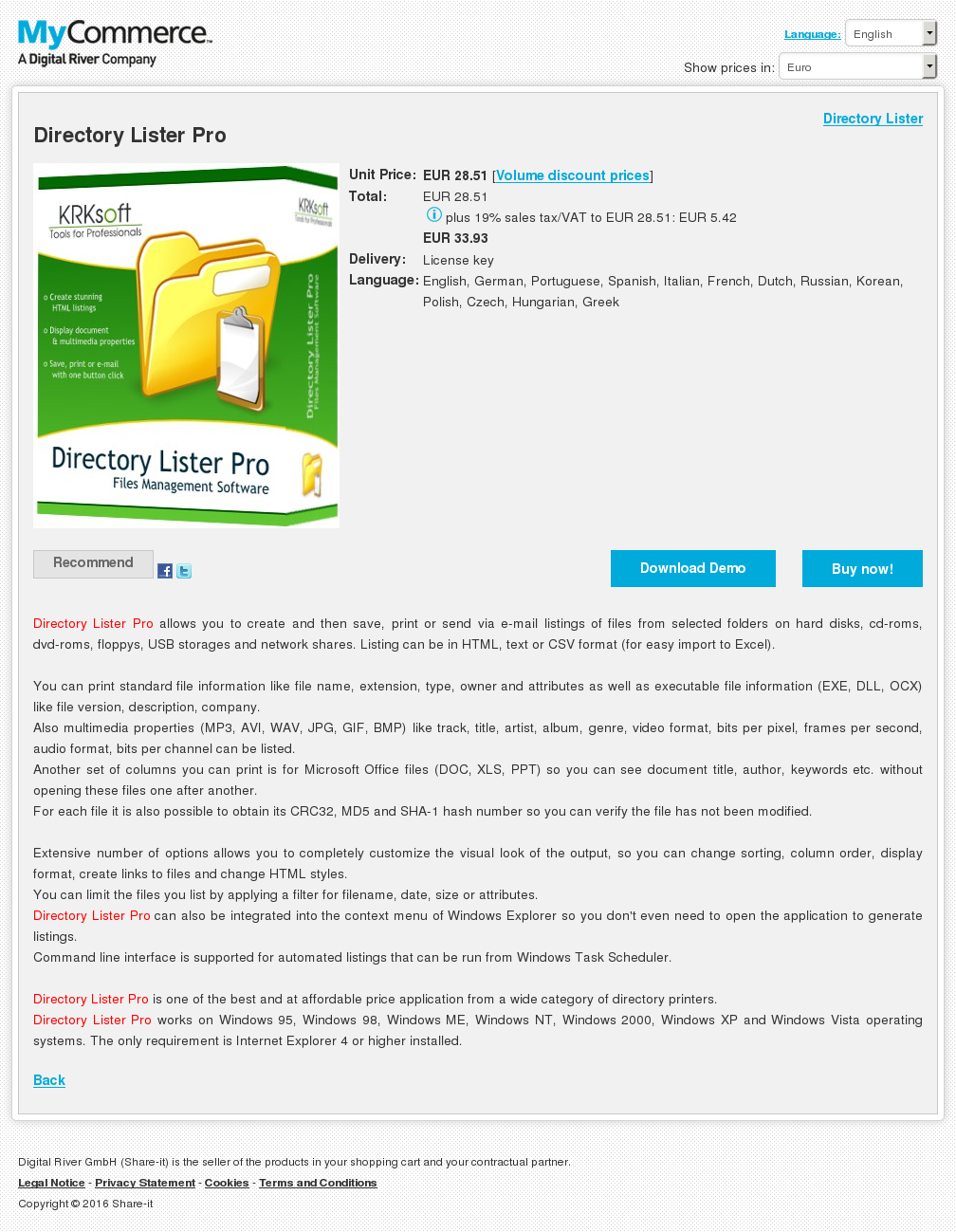 Directory Lister Pro Download