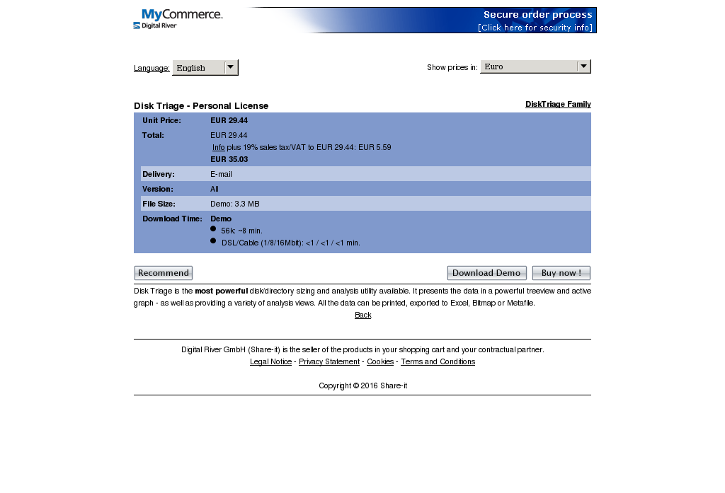 Disk Triage Personal License Review