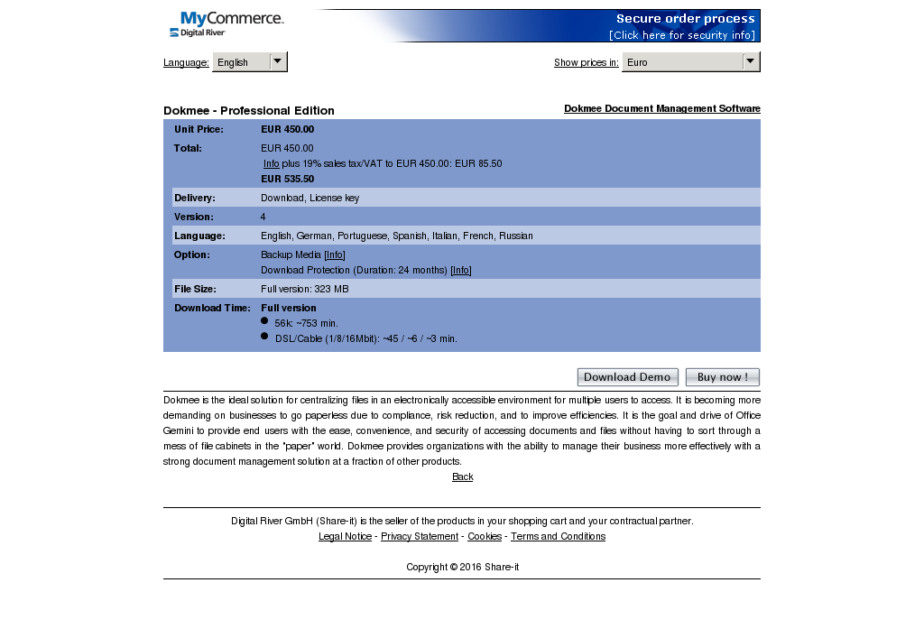Dokmee Professional Edition Download