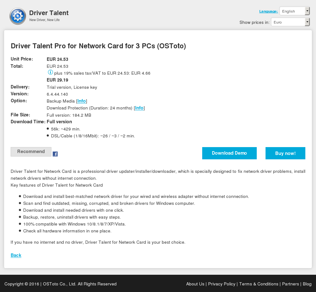 Driver Talent Pro Network Card Pcs Ostoto Download