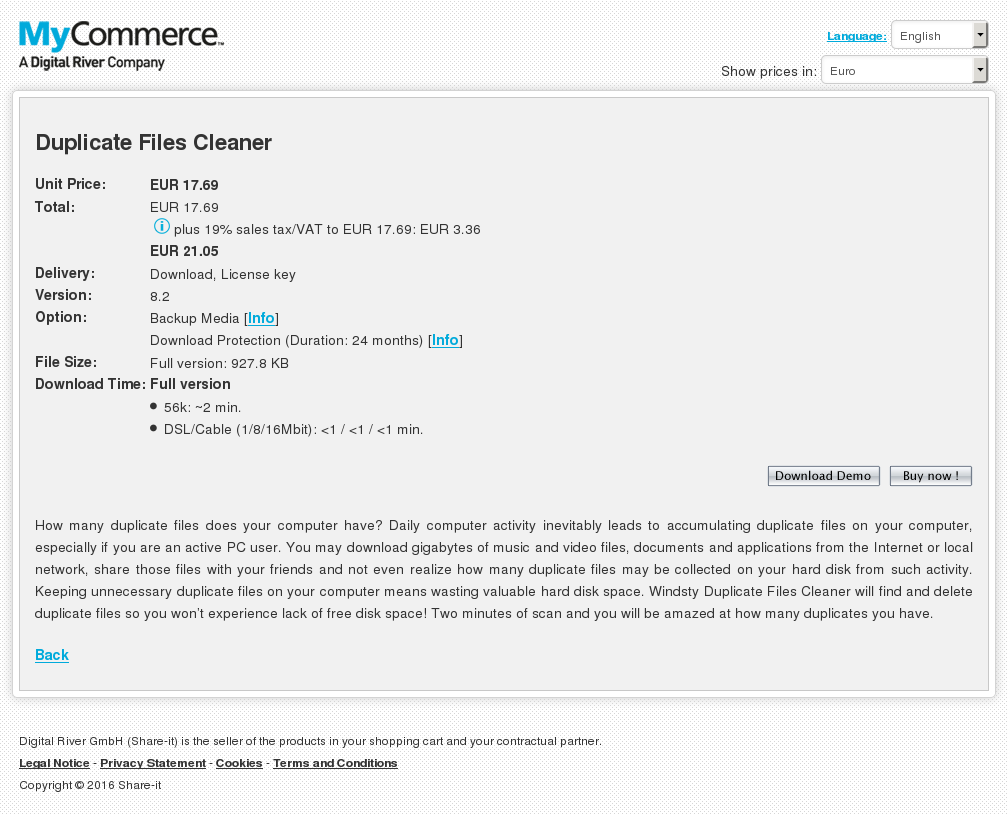 Duplicate Files Cleaner Review