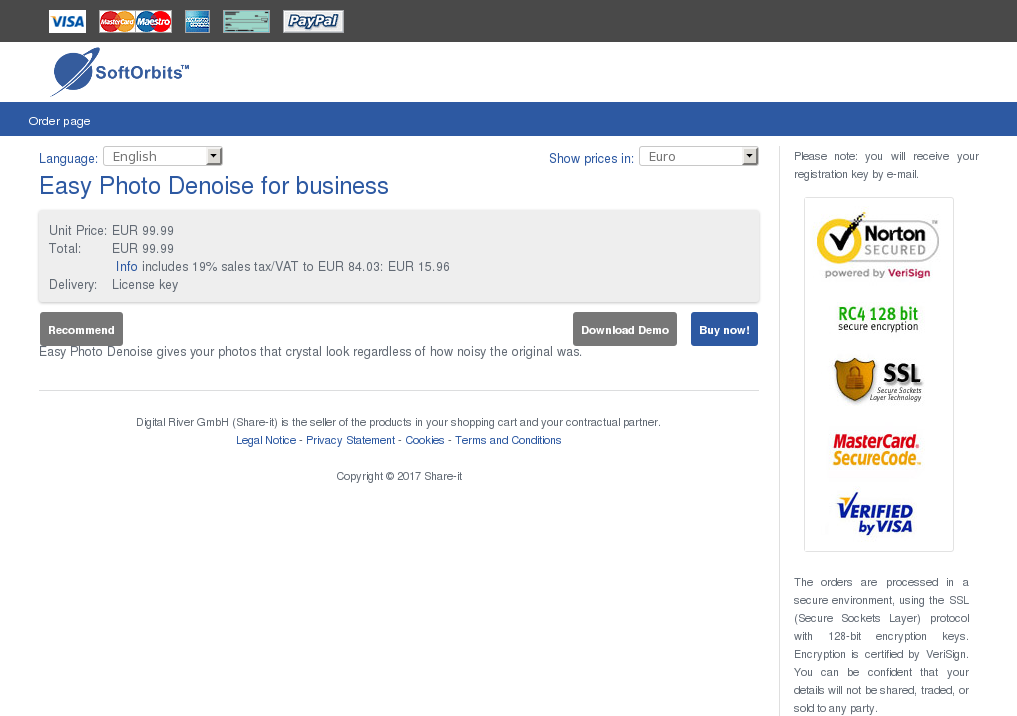 Easy Photo Denoise Business Howto