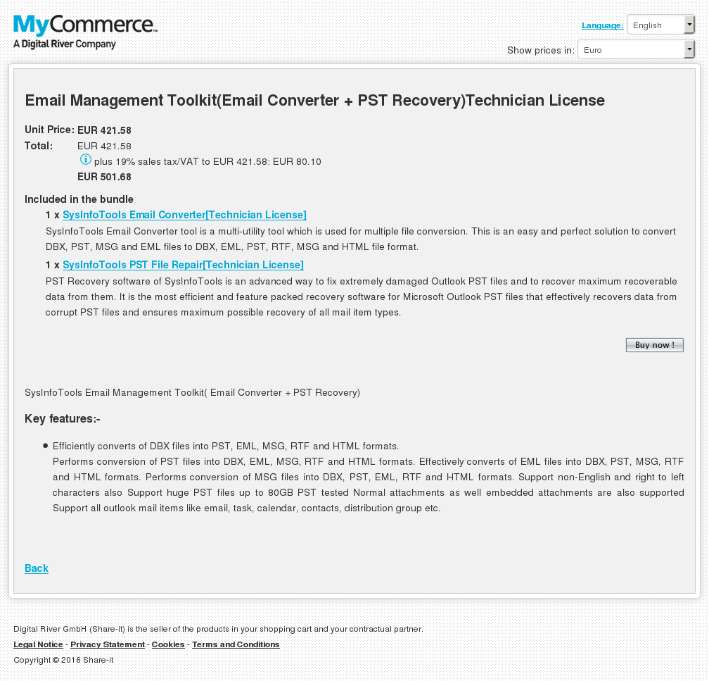 Email Management Toolkit Converter Pst Recovery Technician License Download