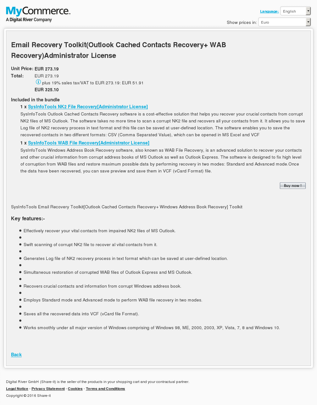 Email Recovery Toolkit Outlook Cached Contacts Wab Administrator License Download