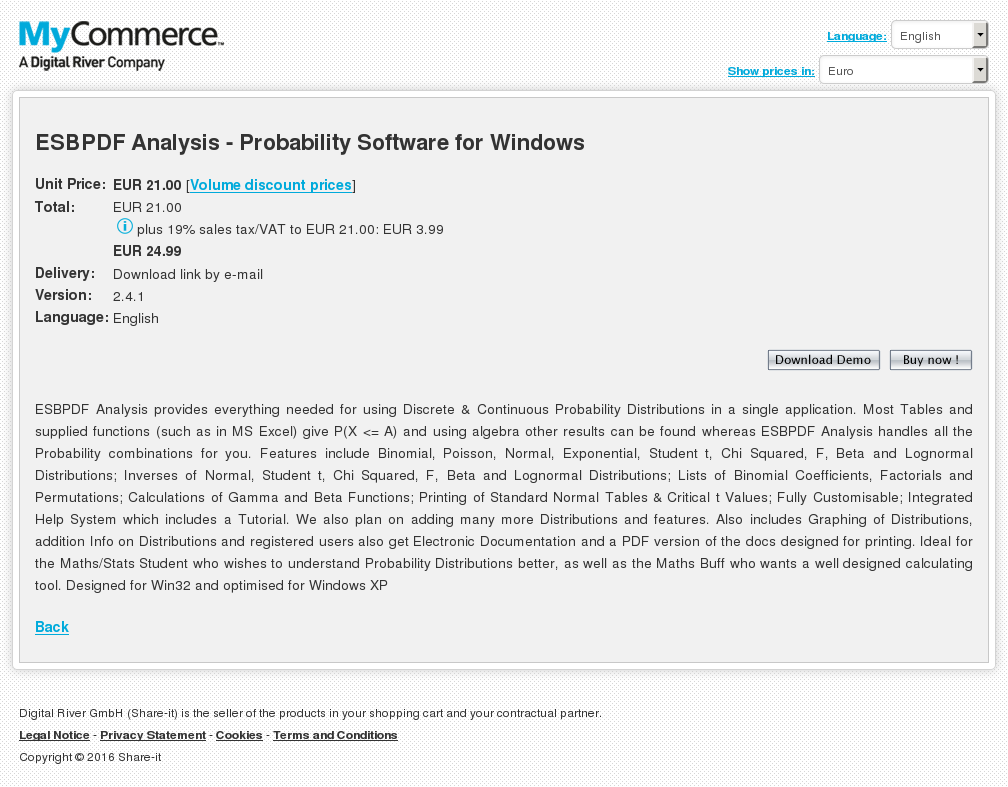 Esbpdf Analysis Probability Software Windows Alternative