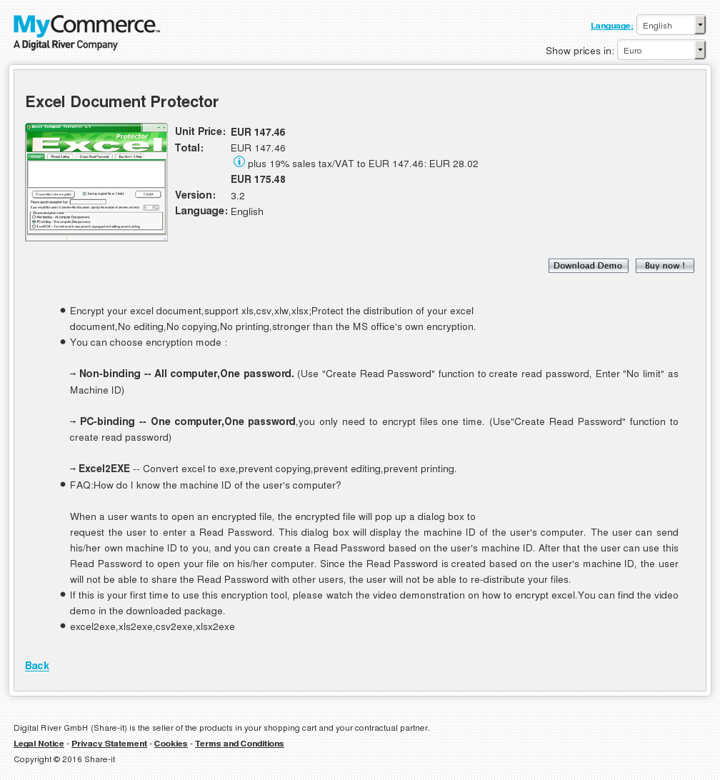 Excel Document Protector Download