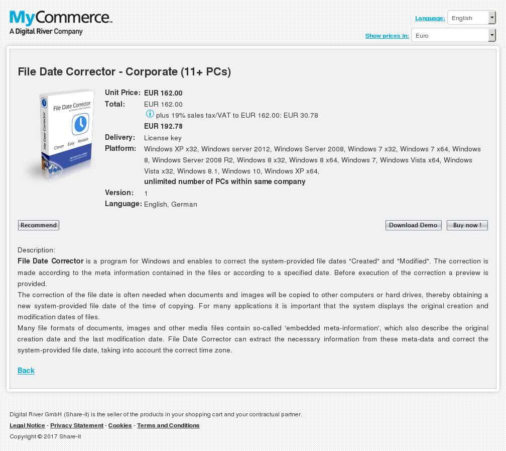 File Date Corrector Corporate Pcs Howto