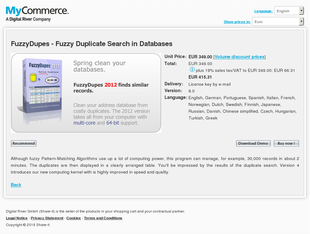 Fuzzydupes Fuzzy Duplicate Search Databases Howto