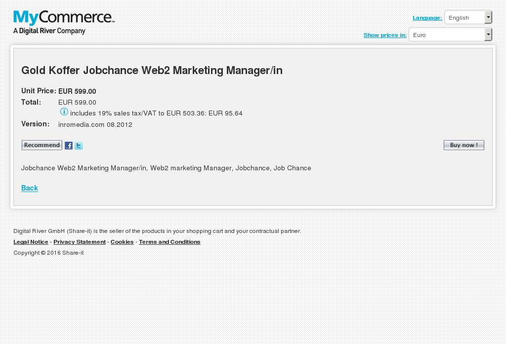 Gold Koffer Jobchance Web Marketing Manager Download