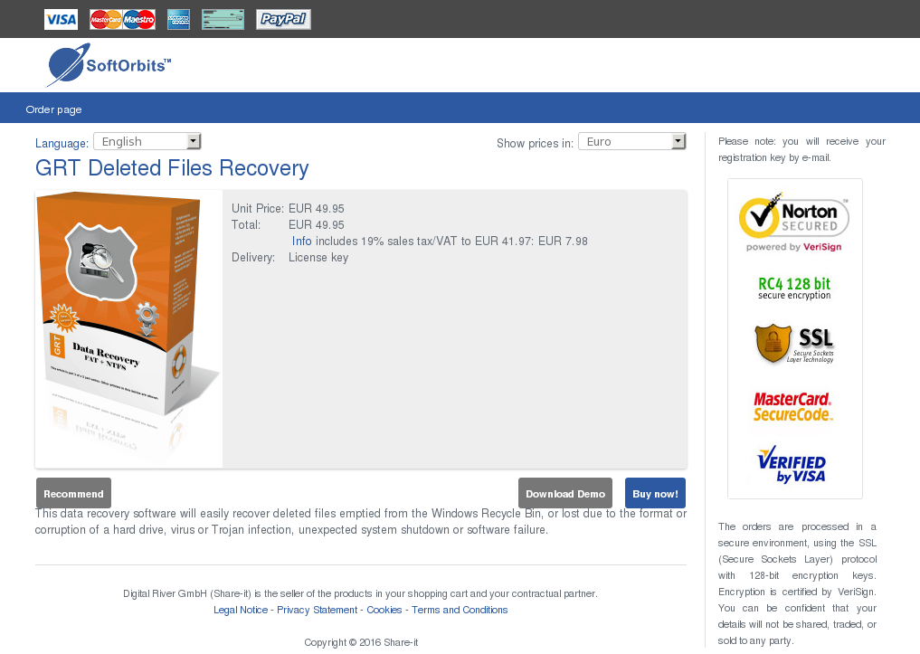 Grt Deleted Files Recovery Features