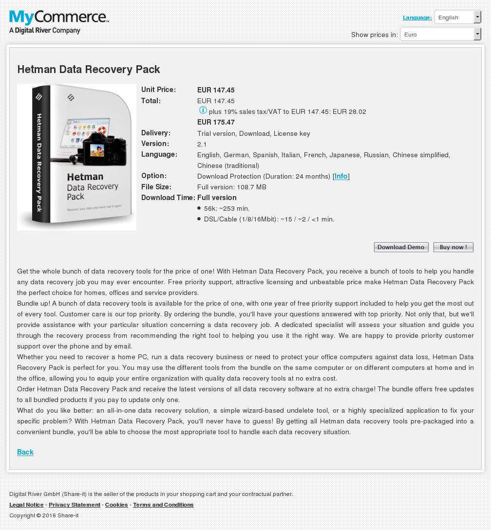 Hetman Data Recovery Pack Howto