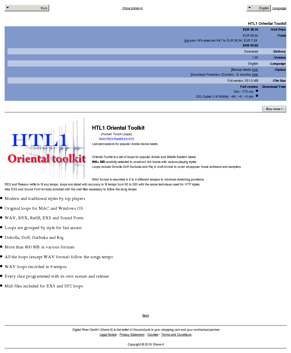Htl Oriental Toolkit Howto