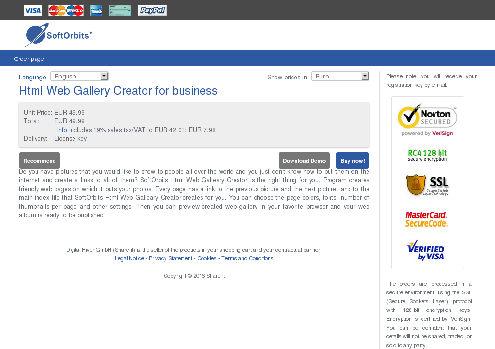 Html Web Gallery Creator Business Howto