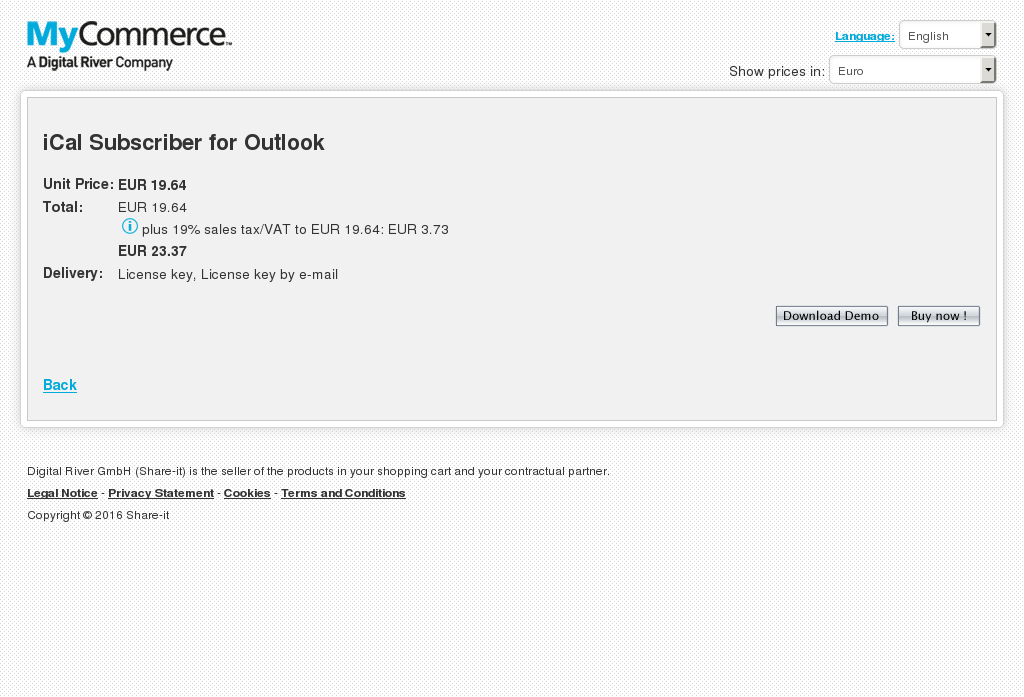 Ical Subscriber Outlook Howto