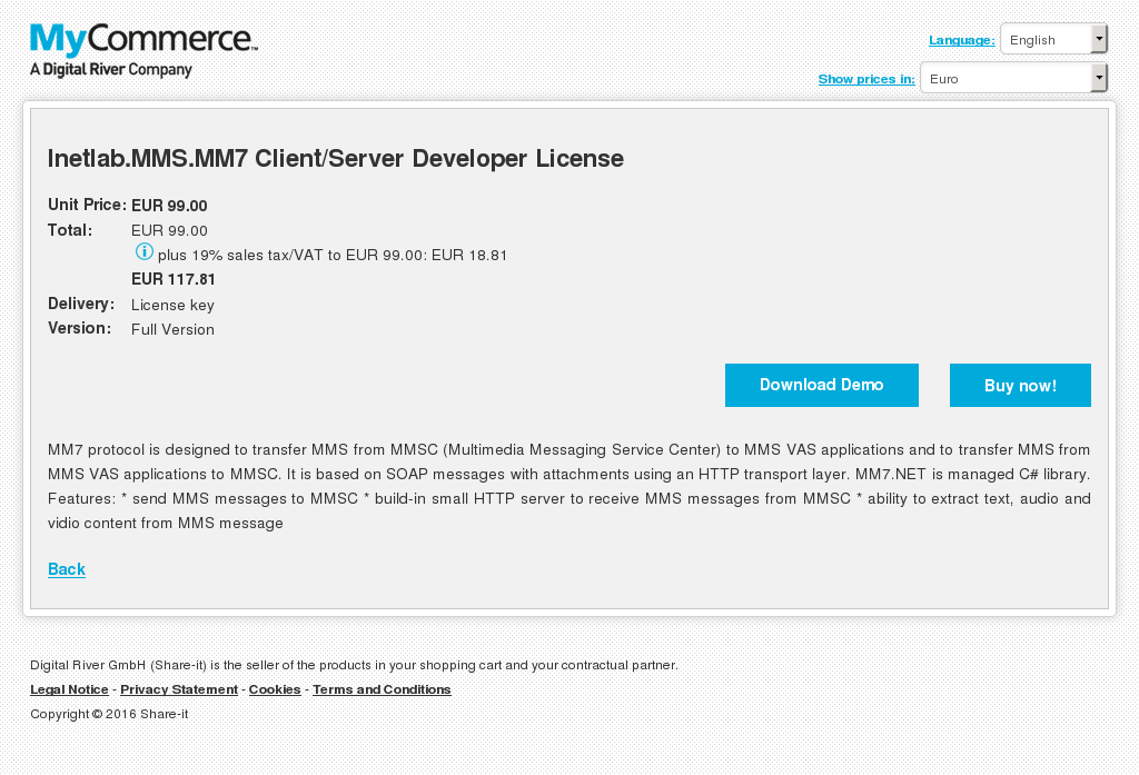 Inetlab Mms Client Server Developer License